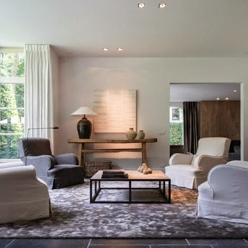Belgian style living rooms