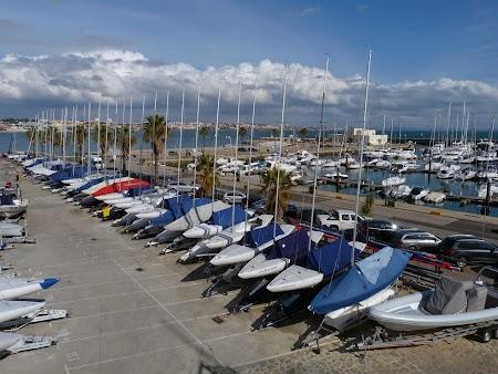 15. Marina - port de ambarcatiuni mici la Cascais, Portugalia.JPG
