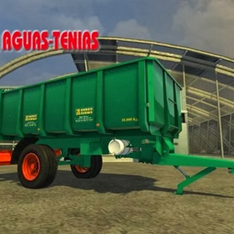 Farming simulator 2013 - Aguas Tenias 1 Axis 10T v 1.5