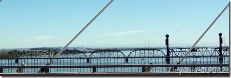 Sacajawea Heritage Trail bridge abstract
