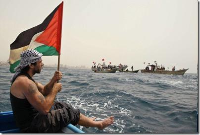 Vittorio Arrigoni prima della sua morte