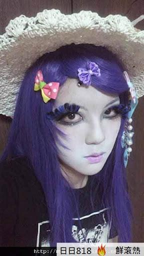 日本新人種 白臉辣妹5