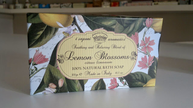 soap gift set Lemon Blossoms