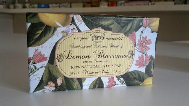 soap gift set Lemon Blossoms