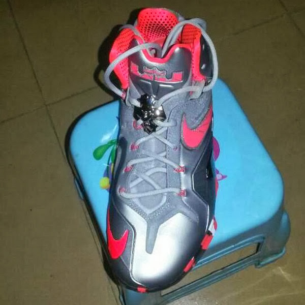 Leaked Nike LeBron XI PS Elite in Grey amp Pink