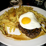 steak & fries at Le Select in Toronto in Toronto, Ontario, Canada