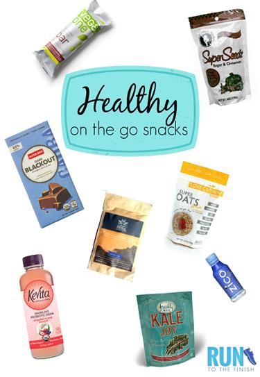 Healthy On The Go Snack Ideas