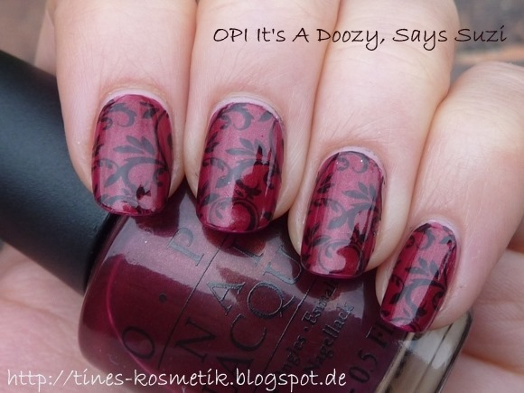 OPI Its A Doozy Stamping 2