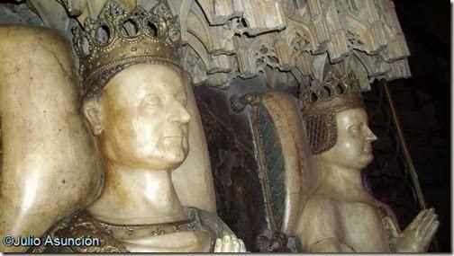 Sepulcro de Carlos III el noble y Leonor de Trastámara - Catedral de Pamplona