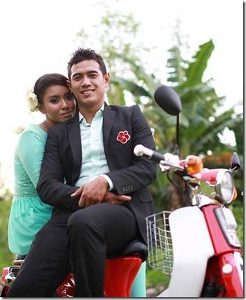 Gambar majlis resepsi Amar Asyraf dan Arna Salleh 3