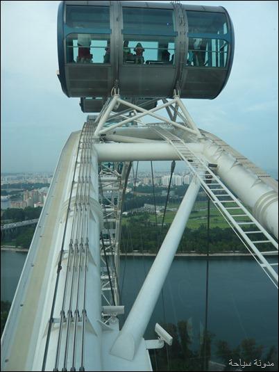 كبسولة العجلة الدوارة في سنغافورة