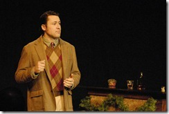 Colin Ryan as Dylan Thomas--Boyle Image