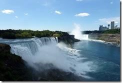 Niagara Falls-American Falls and Horseshoe Falls
