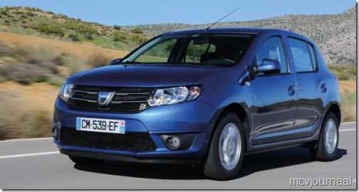 Dacia Sandero nieuw 01