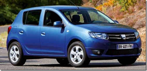 Dacia Logan en Sandero II in detail 18