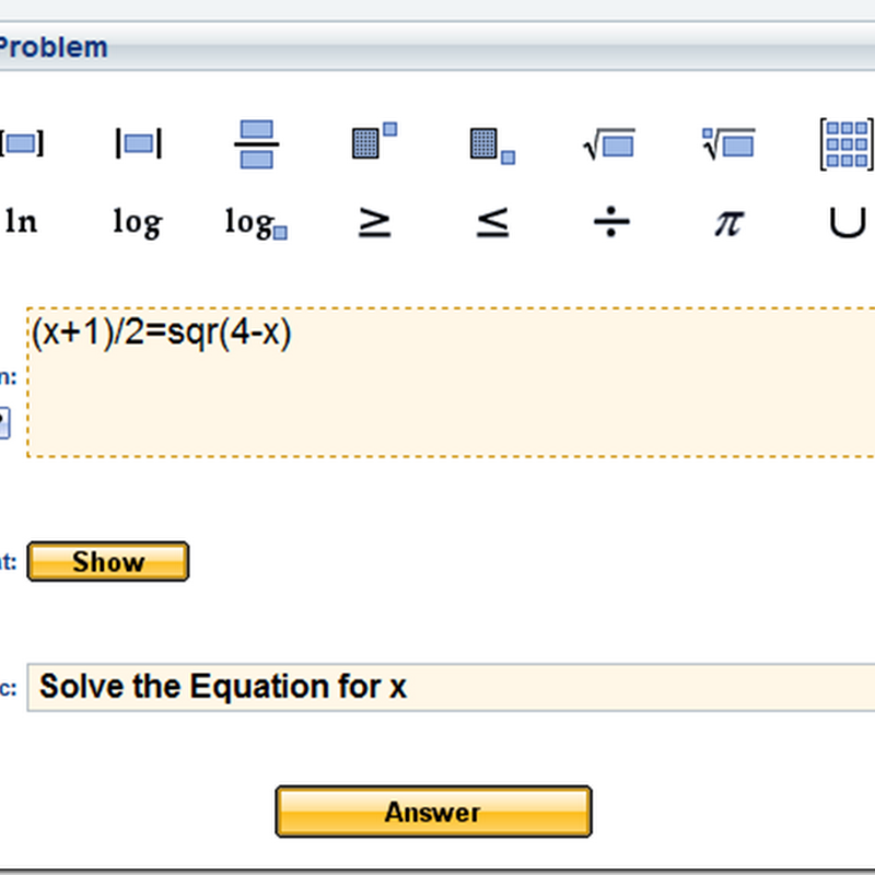 How to Solve Mathematics Problem Online for Free