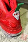 nike lebron 9 gr christmas 4 10 kickz Throwback Thursday: Look Back at LBJs 2011 Christmas Shoes