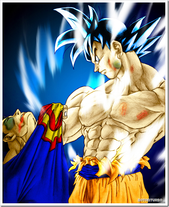Goku derrota a Superman