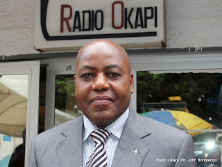 Martin Kabwelulu, Ministre des Mines  l&#039;intrim. Radio Okapi/ Ph. John Bompengo