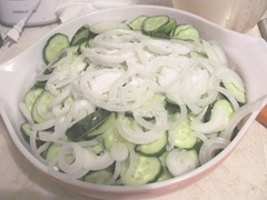 B.B pickles 1 bowl w kosher salt3