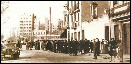 PLAZA ESPAÑA 1955