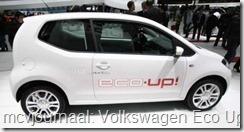 2012 Autosalon Geneve - Volkswagen Eco Up!