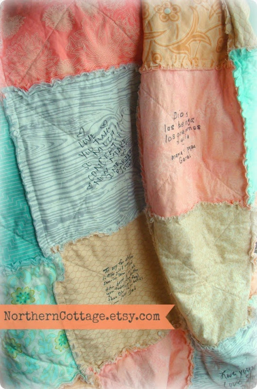Guestbook Quilt {NorthernCottage}