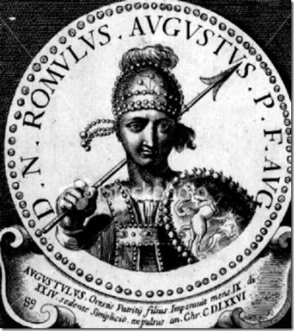 Romulus Augustus last Emperor Rome 2