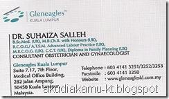 namecard doc suhaiza ob gyn gleneagles