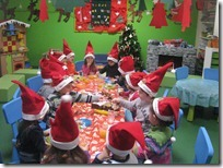 χριστουγεννιάτικο κέικ 4