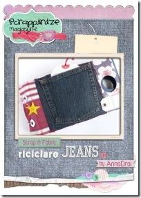 5-scrapbooking - tutorial - mini album jeans