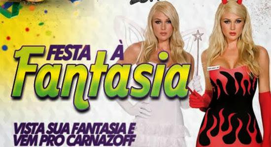 Festa a Fantasia é o tema da noite de sábado, dia 01, no Carnazoff 2014 da Zoff Club em Indaiatuba