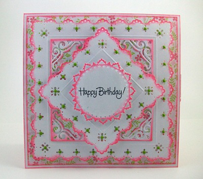 Prima Donna Petals Birthday Card1