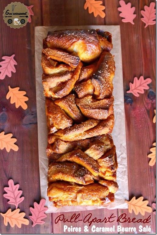 Pull-Apart Bread Poires & Caramel Beurre Salé 6