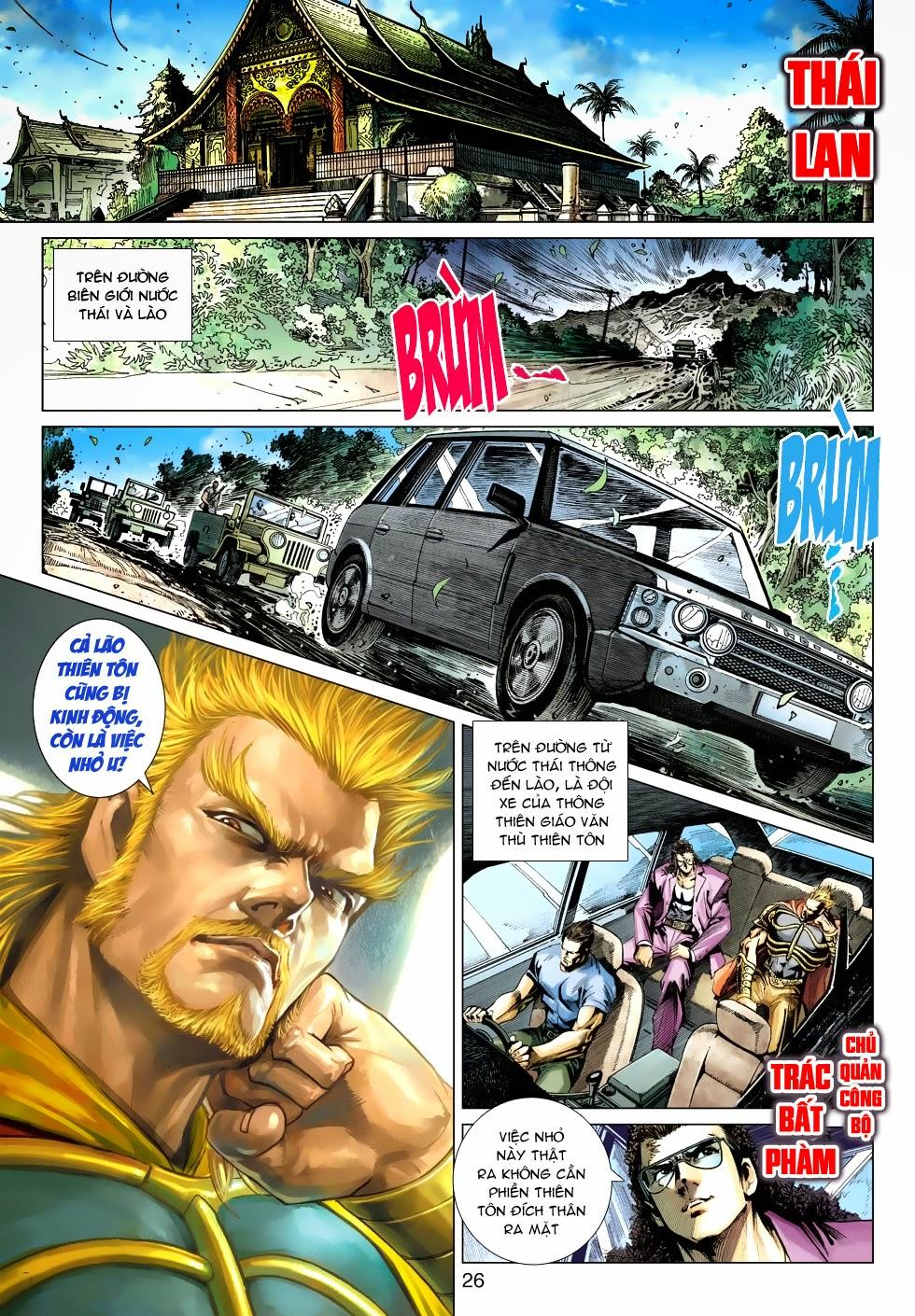 Tân Tác Long Hổ Môn chap 488 - Trang 25