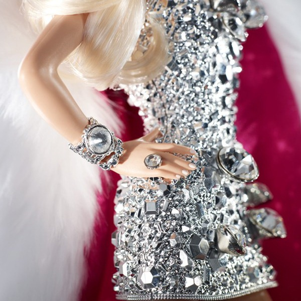 The Blonds Blond Diamond Barbie-Vestido-Acessrios-Detalhe