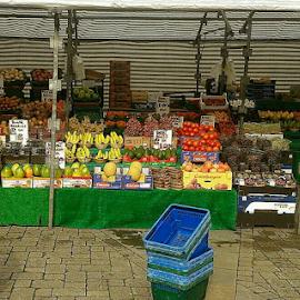 Market Stall by Lyz Amer - Food & Drink Fruits & Vegetables ( market )