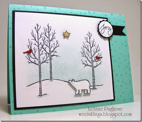 LeAnne Pugliese WeeInklings White Christmas Stampin Up