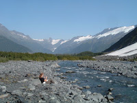 Creek at Byron Glacier