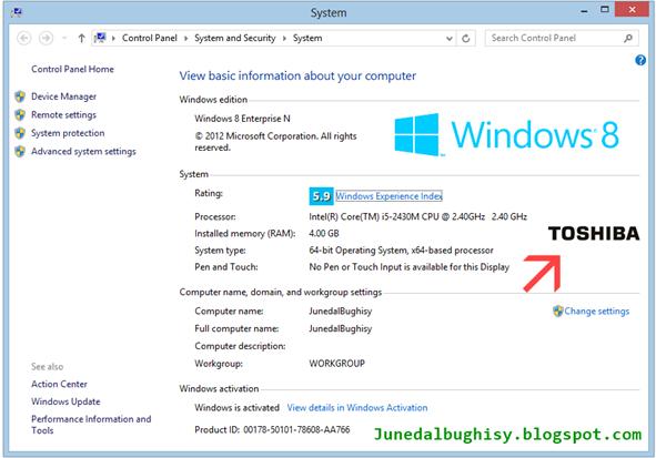 Cara Memasang Logo OEM Pada Windows 8 04