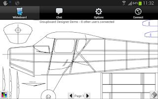 Screenshot of Groupboard