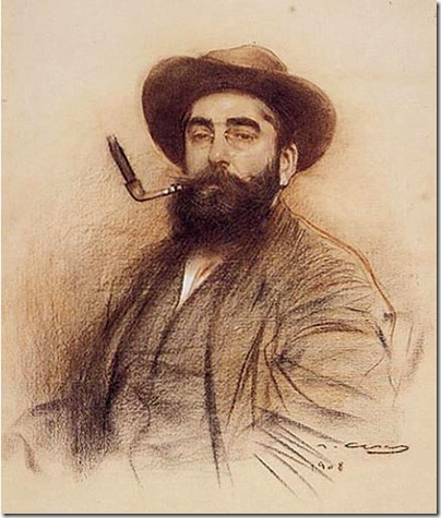 ramon casas i carbo_autorretrato_1908