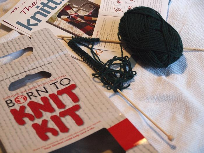 knitting(ish)