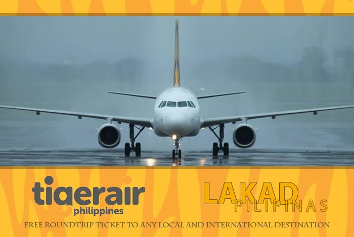 Tigerair Philippines and Lakad Pilipinas Roundtrip Flight Contest