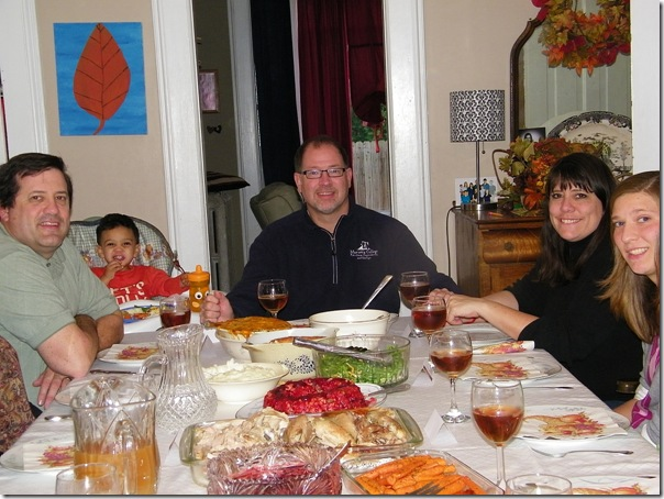 thanksgiving table 2