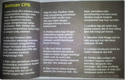 Panduan bantuan CPR