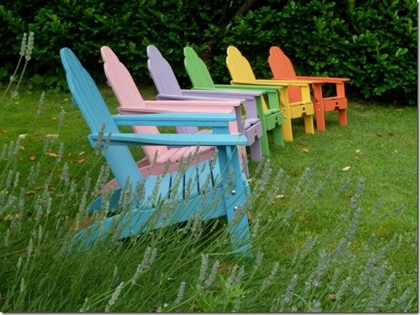 case e interni - sedie per esterni - faidate - Adirondack Chair (3)