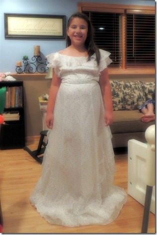 Mikayla in Grandma Pats bridesmaid dress