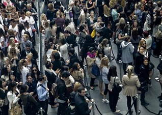 Queues of Fashionistas at the Zara Opening | Sydney | Australia | Zara | Fashion | Clothing | Shoes | Handbags