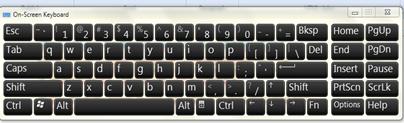 ปัญหา Keyboard และ Touch pad